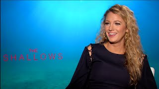 BLAKE LIVELY interview - THE SHALLOWS, DEADPOOL Resimi