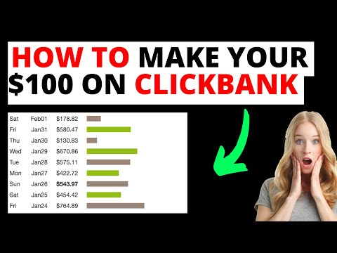 How to Make Your First $100 on Clickbank [Affiliate Marketing for Beginners] thumbnail
