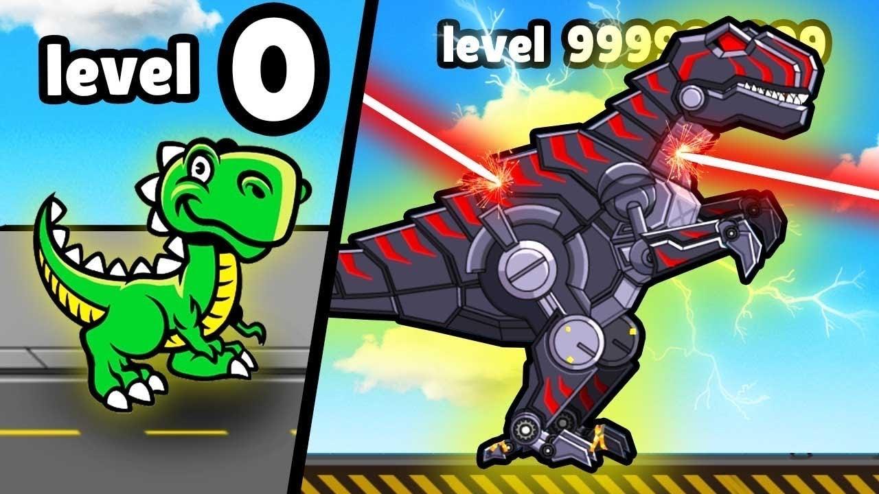 Robot Dinosaur T-Rex - MAX UPGRADE UNLOCKED?