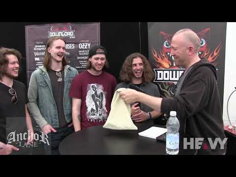 ANCHOR LANE Interview at Download UK 2018   HEAVY TV