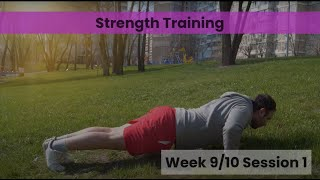 Strength - Week 9&10 Session 1 (mHealth)