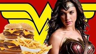Did DC Steal Wonder Woman's Logo From a Burger Restaurant? - Up At Noon Live