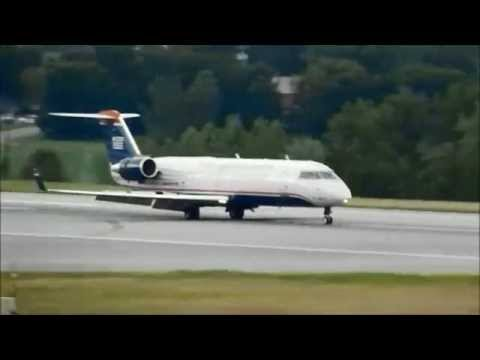 plane spotting at KBTV Burlington Vermont