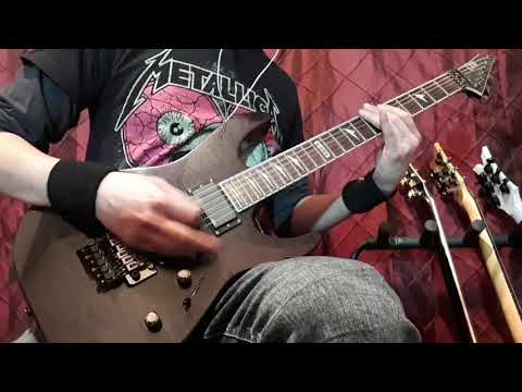 Escape The Fate - Gorgeous Nightmare. Guitar Cover. (With Solo) HD