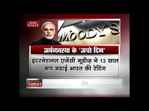 Moody's upgrades India's bond rating to Baa2 from Baa3