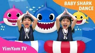 Baby Shark Dance | หนูยิ้มหนูแย้มเต้นเบบี้ชาร์ค | PINKFONG Songs for Children