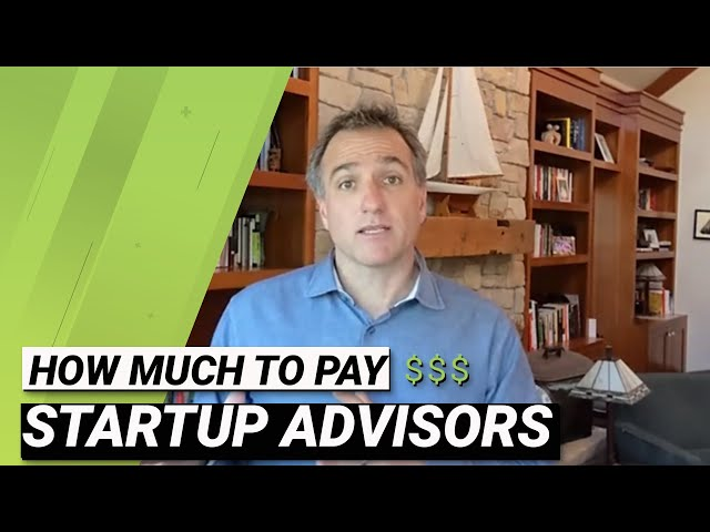 How much to pay startup advisors - AskAVC #25