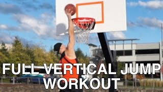 """Full """"Vertical Jump"""" Training - How to INSTANTLY """"Jump Higher"""""""