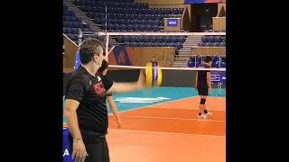 Japan Volleyball Team Training
