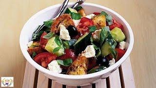 Crunchy Feta And Tomato Salad