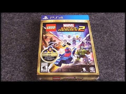 I Bought the Deluxe Edition of LEGO Marvel Superheroes 2