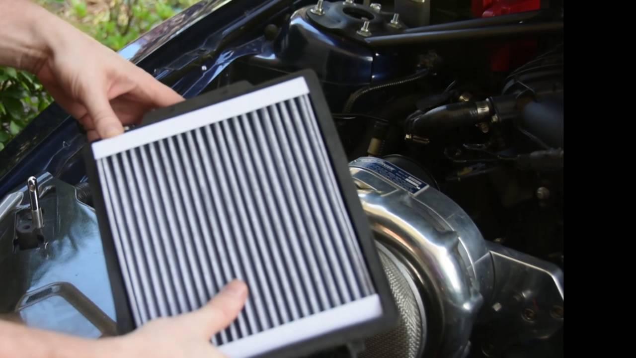 V6 Mustang Cabin Filter Install 05 14 Youtube Ford Fuel Location