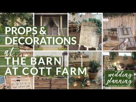 Props & Decorations at The Barn at Cott Farm Wedding Venue   cottfarmwedding.co.uk
