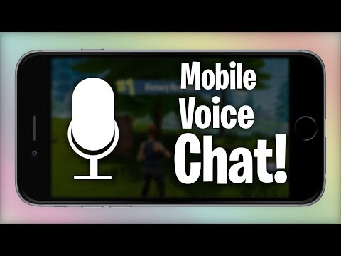 How To Use Voice Chat On Fortnite Mobile.