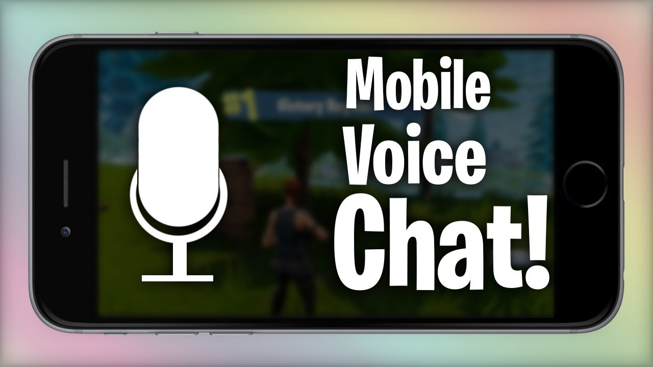 how to use voice chat on fortnite mobile - how to voice chat on fortnite phone