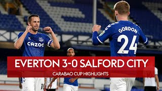 Sigurdsson shines as Everton brush Salford aside | Everton 3-0 Salford City | Carabao Cup Highlights