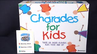 Charades for Kids from Pressman Toy