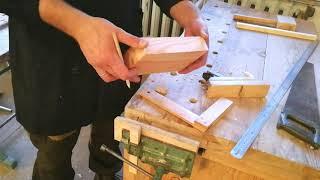 Урок технологии в 5 классе. Последовательность изготовления деталей из древесины