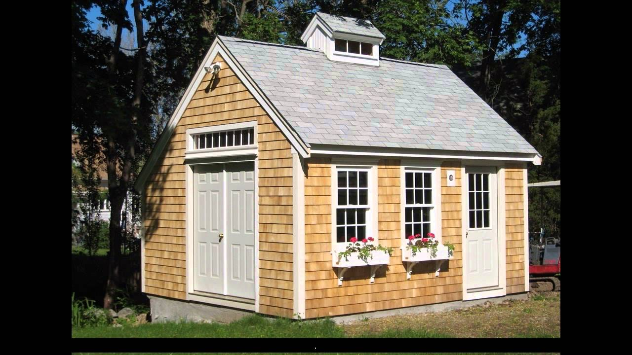 Shed Plans 8x8 Youtube
