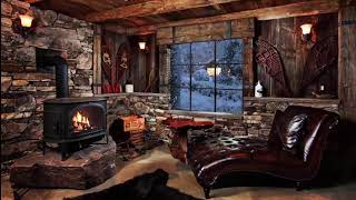 RELAXING ATMOSPHERE Little House in Winter -- The Beautiful Life