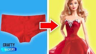 20 Barbie Hacks And Crafts
