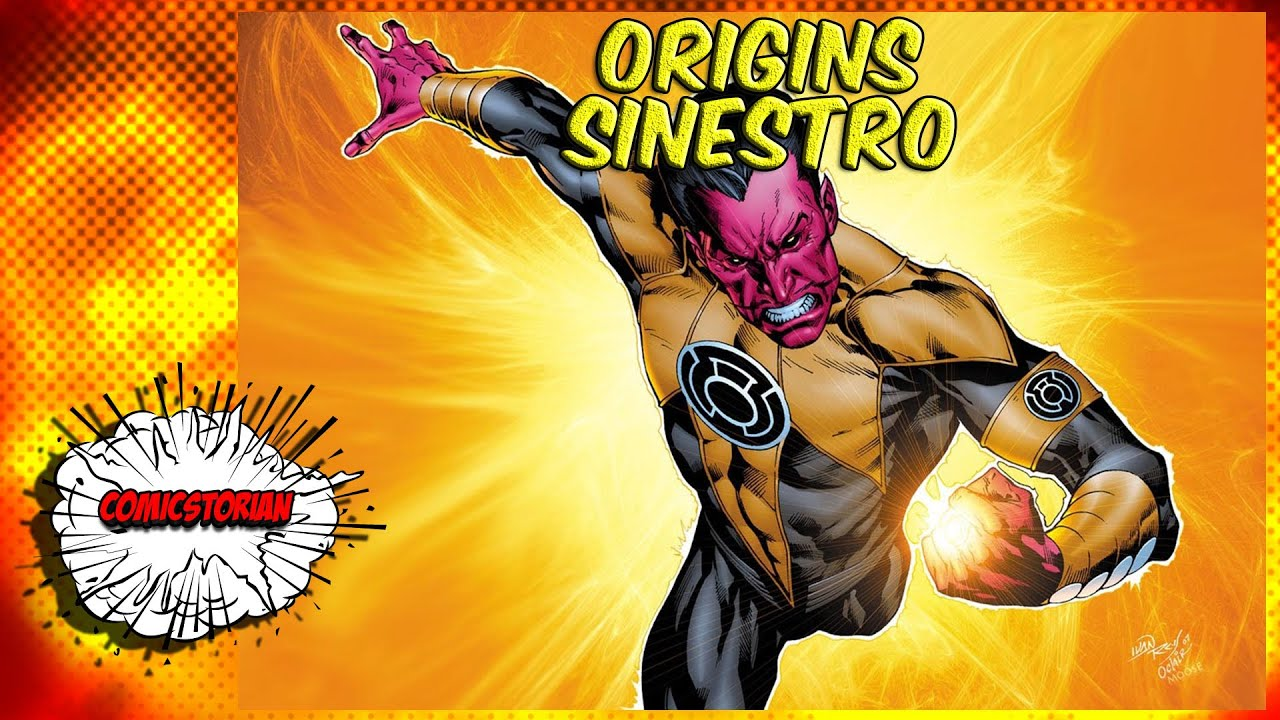 sinestro yellow lantern origins youtube