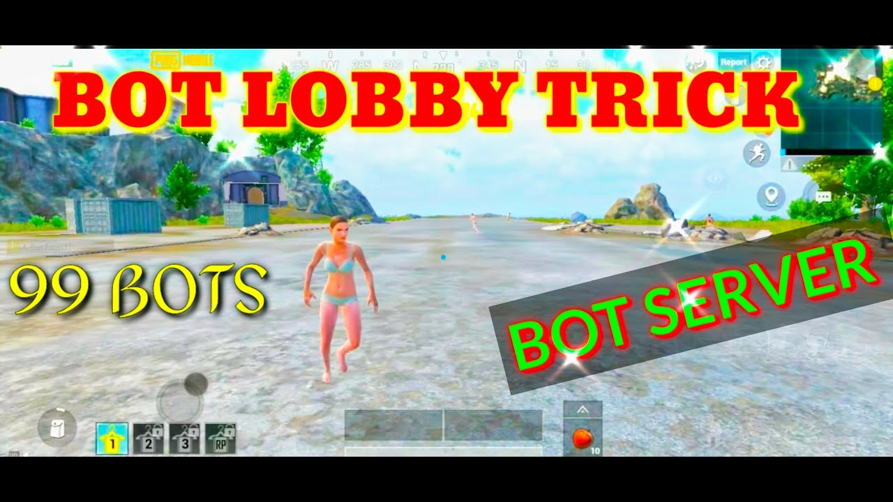HOW TO GET BOT LOBBY IN PUBG MOBILE ...