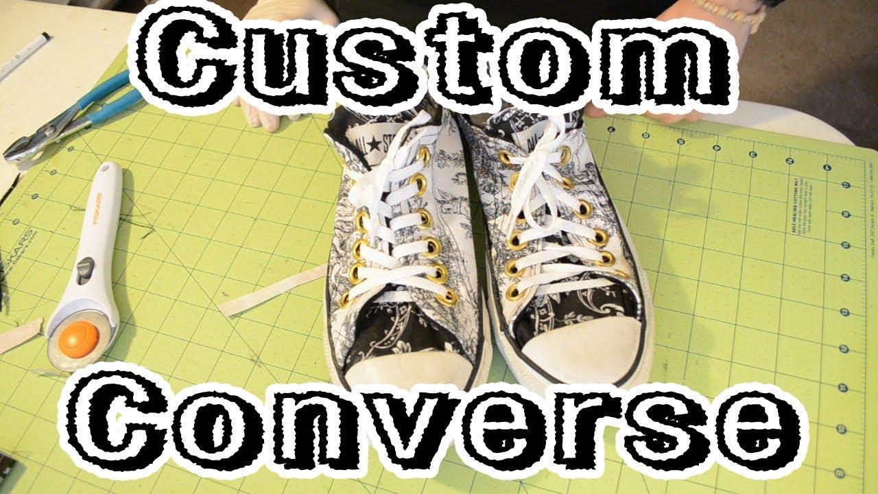 2b85b96e5f44a DIY: Custom Converse Tutorial | From Scratch #11