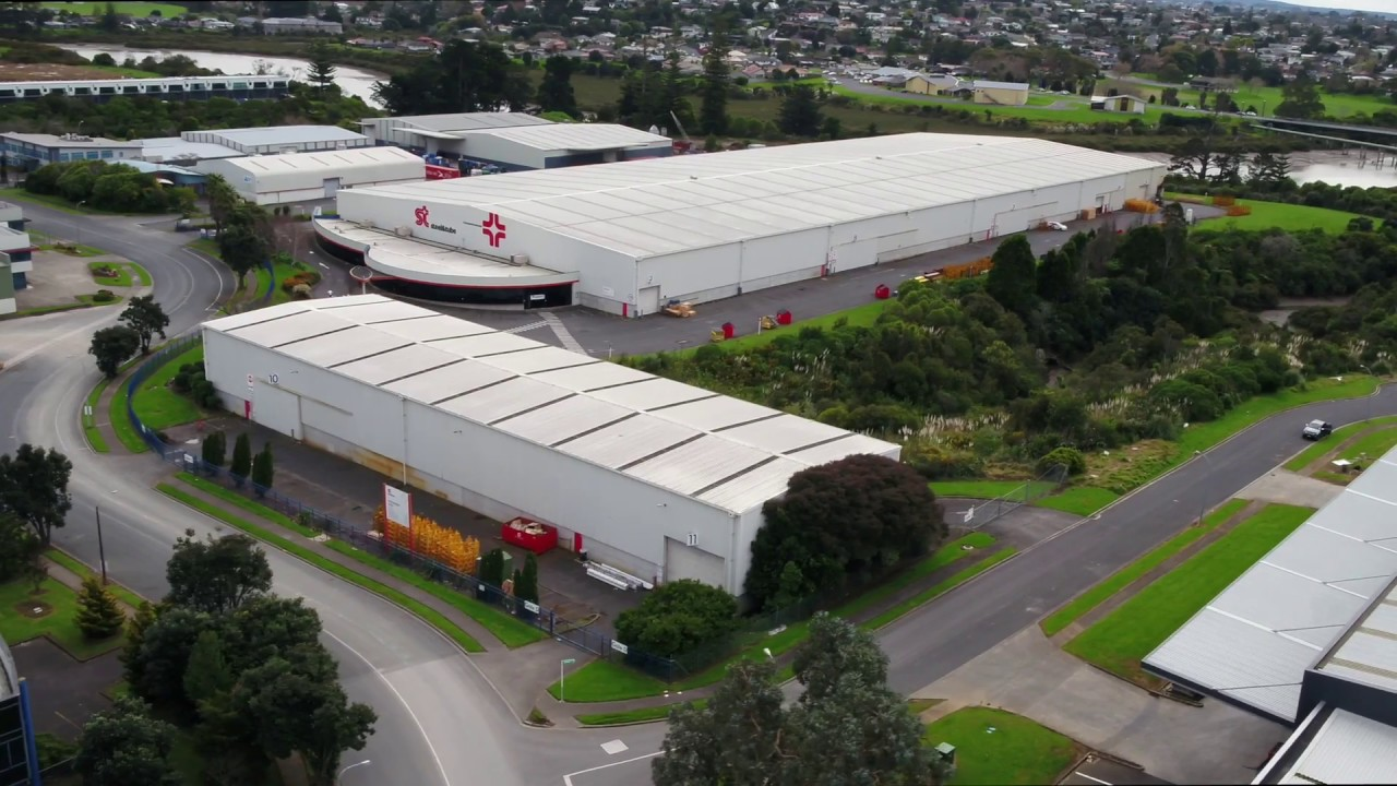 East Tamaki distribution centre for sale with long lease