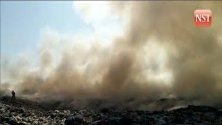 Padang Siding landfill ablaze again