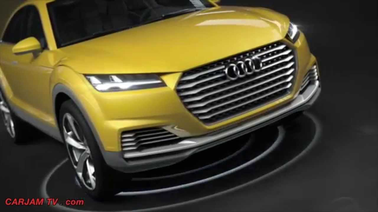 Audi Tt Offroad Hybrid Suv Hd First Commercial Carjam Tv 2017 Wireless Charging