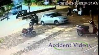 Accident Videos#108 | Bus hits man | Live Accident CCTV Footage