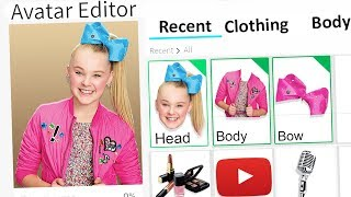 MAKING JOJO SIWA A ROBLOX ACCOUNT!!