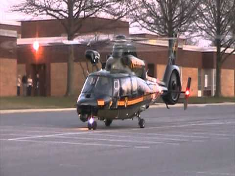 Trooper 3 Take off from Northwest Middle School in Taneytown