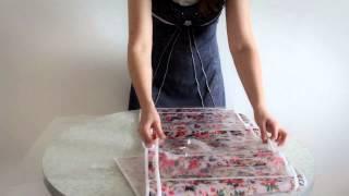 Органайзер подвесной для одежды 5 карманов