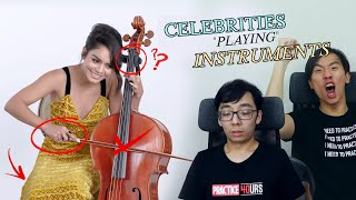 Classical Musicians React to Vanessa Hudgens Playing the Cello (and other celebrities...)