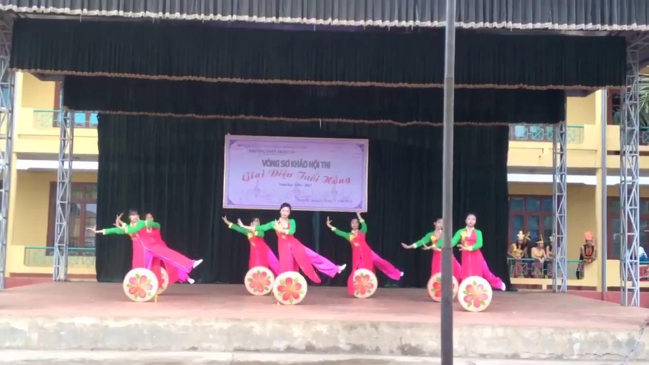 Thoáng Xuân (Múa dân gian) A1-k39 THPT Trại Cau