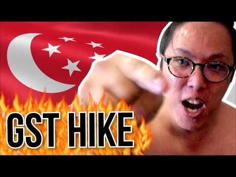 Government Broke Their Promise?! Singapore GST Hike to 9% Reaction - Budget 2018