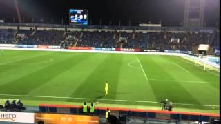 Лодыгин прогнал кошку с поля во время матча Зенит - Тосно