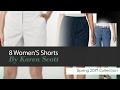 8 Women'S Shorts By Karen Scott Spring 2017 Collection