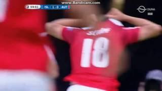 Izland 2-1 Ausztria: Schöpf gól
