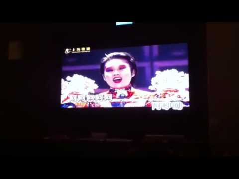 KTV in Shanghai. The most difficult song ever?