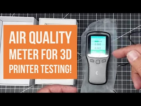 Shop Talk - Unboxing an Air Quality Meter for 3D Printer Testing!