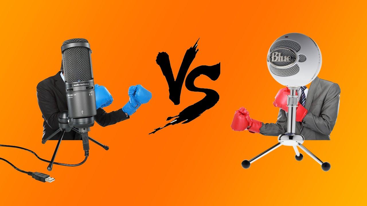 audio technica at2020 usb vs blue snowball microphone comparison video w tbnrkenworth youtube. Black Bedroom Furniture Sets. Home Design Ideas
