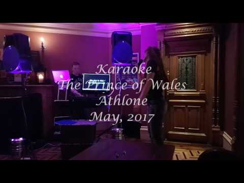 karaoke Athlone, Ireland, May 2017