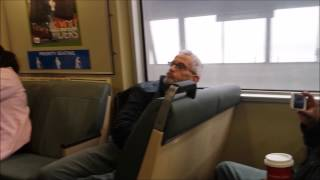Racist Guy Yelling at Strangers on Fremont-Richmond BART - 10:45am - 8/25/2014 - Monday