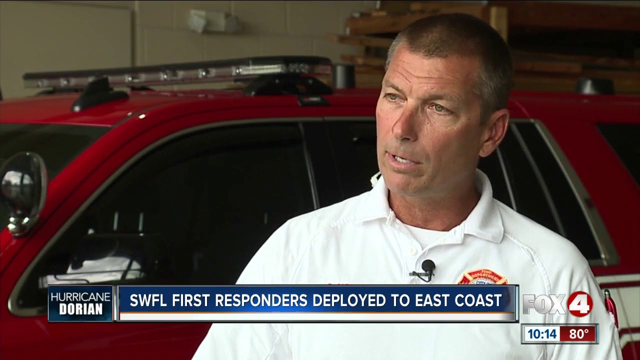 Lee County Strike Team deployed to Miami for hurricane relief