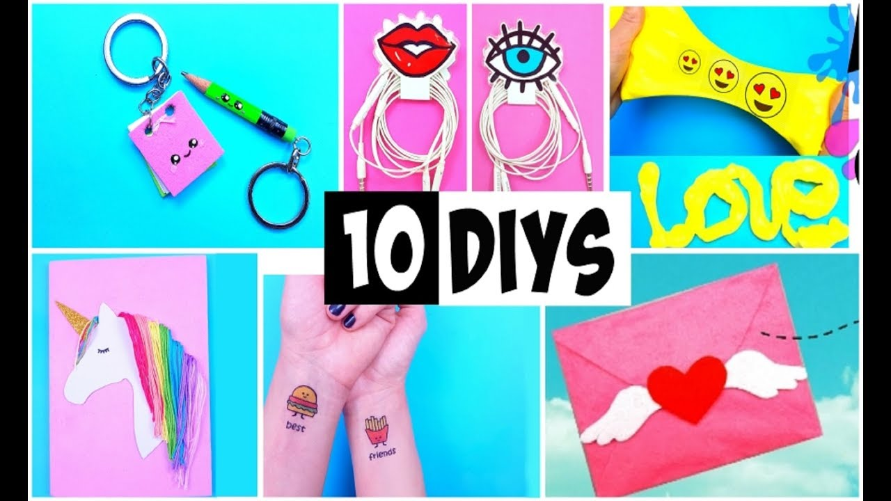 Making 10 Amazing Diy Bff Gift Ideas