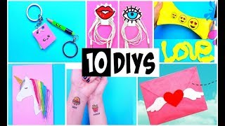 MAKING 10 AMAZING DIY BFF Gift Ideas, School Supplies, Room Decor COMPILATION!