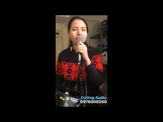 Quảng Bình Quê Ta Ơi | Sound Card XOX K10, Micro Thu Âm BM 800, Dây Live Stream
